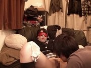 Ai Uehara in Sneaking Out To Sleep At A Boy's Place - JapansTiniest