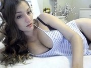 Skye Evans is horny, wet, and chatting on SexyChatCam