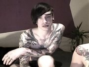 Emo teens webcam blow and footjob