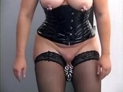 Amazing amateur Piercing, Big Tits xxx video