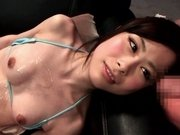 Cumming On an Extremely Thin, Beautiful Hikari - JapansTiniest