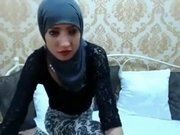 Fabulous Homemade record with Webcam, Arab scenes