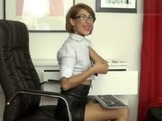 Sexy secretary BlondeViolin