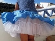 Amazing amateur Upskirts xxx video